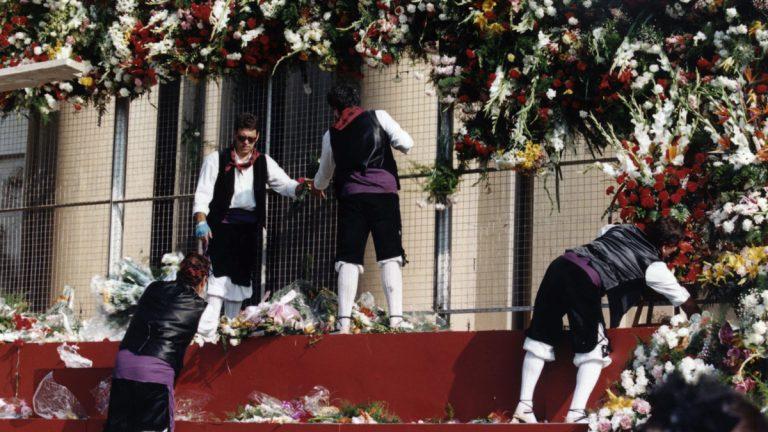 Ofrenda de Flores Zaragoza. 1995
